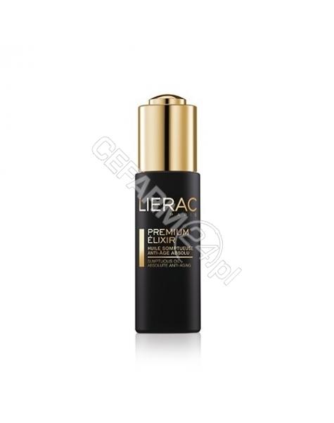 LIERAC Lierac Premium Elixir ekskluzywny olejek do twarzy 30ml + Lierac Premium odżywczy krem redukujący zmarszczki 15ml GRATIS !!!