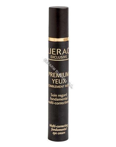 LIERAC Lierac Premium yeux - wygładzający krem pod oczy wypełniający zmarszczki 10 ml