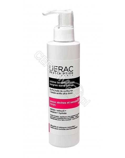 LIERAC Lierac prescription krem myjący do ciała 200 ml (data ważności <span class=