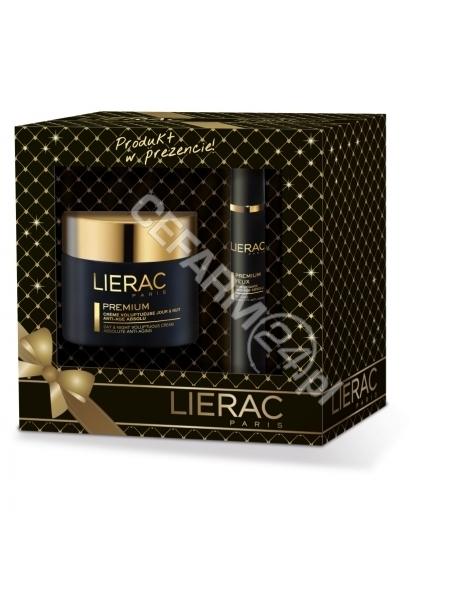 LIERAC Lierac promocyjny zestaw Premium - krem odżywczy redukujący zmarszczki 50 ml + krem pod oczy 10 ml GRATIS !!!