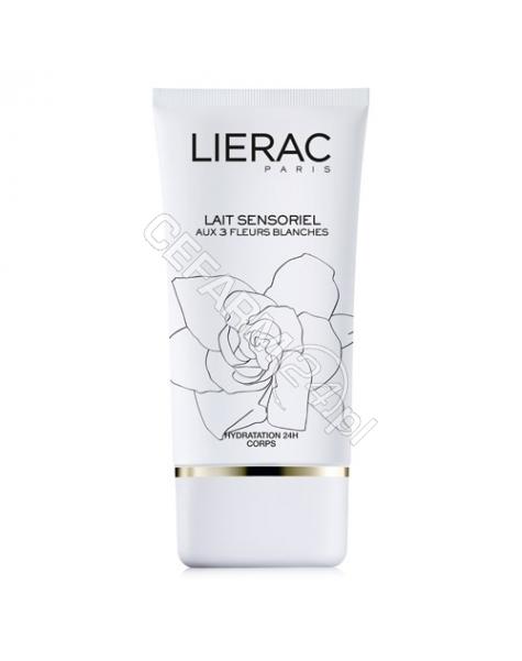 LIERAC Lierac Sensorielle 3 białe kwiaty - zmysłowe mleczko rozświetlające 150 ml