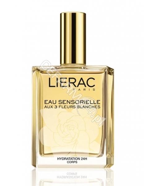 LIERAC Lierac Sensorielle eau - nawilżająca mgiełka zapachowa do ciała z ekstraktami z białych kwiatów 100 ml