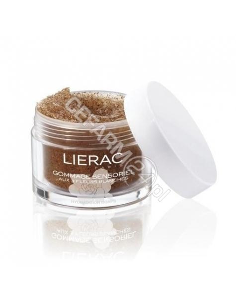 LIERAC Lierac Sensorielle gommage - zmysłowy peeling do ciała z ekstraktami z 3 białych kwiatów 175 ml