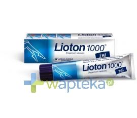 A.MENARINI PHARM.INDUSTRIES GROUP LTD. Lioton 1000 żel 30 g