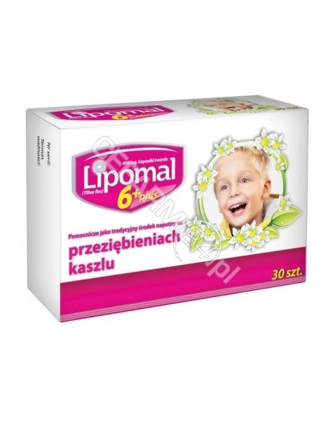 AFLOFARM Lipomal 6+ plus 400 mg x 30 kaps