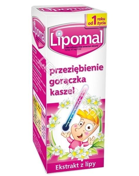AFLOFARM FARMACJA POLSKA SP. Z O.O. Lipomal syrop 125 g