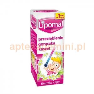 Aflofarm Lipomal, syrop, od 1 roku życia, 125g