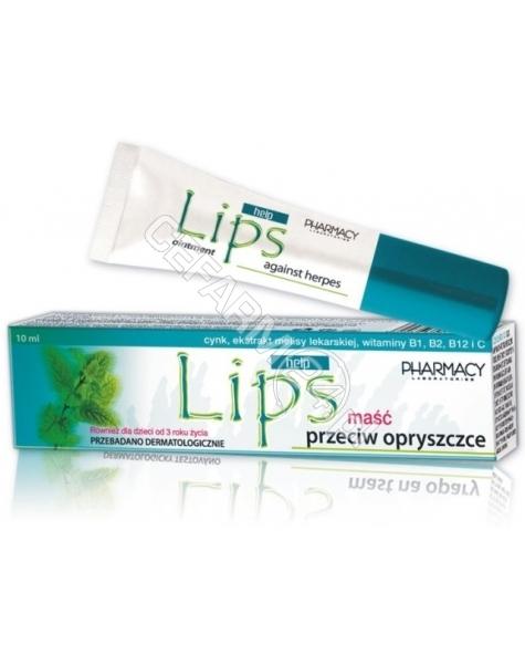 PHARMACY LAB Lips Help maść na opryszczkę 10 ml