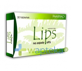 PHARMACY LABORATORIES Lips na zajady i afty 30 tabletek