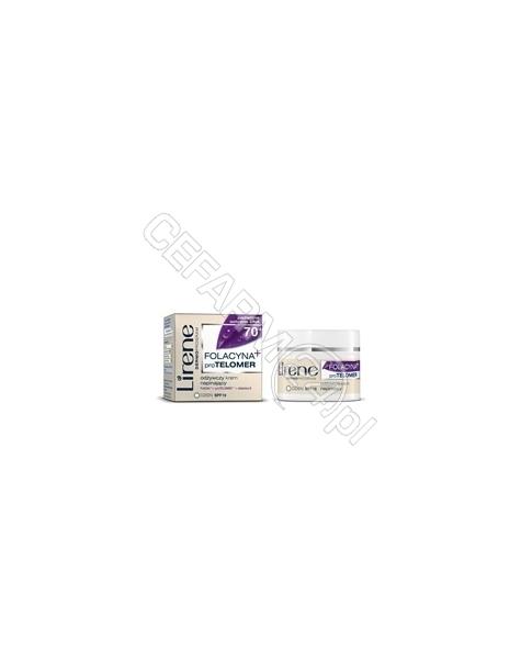 DR IRENA ERIS Lirene folacyna+proTelomer 70+ odżywczy krem napinający na dzień spf-15 50 ml