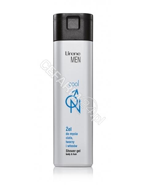 DR IRENA ERIS Lirene men cool żel do mycia twarzy, ciała i włosów 250 ml (data ważności <span class=
