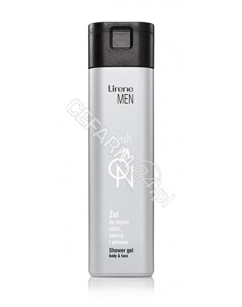DR IRENA ERIS Lirene men fresh żel do mycia twarzy, ciała i włosów 250 ml