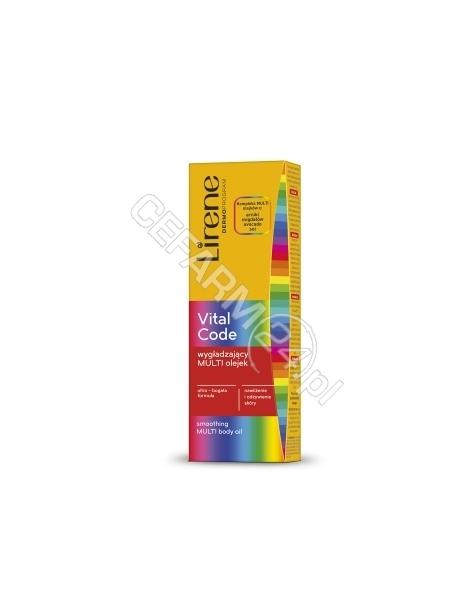 DR IRENA ERIS Lirene Vital Code wygładzający multi olejek do ciała 150 ml