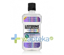 JOHNSON & JOHNSON LISTERINE PROFESSIONAL Fluoride plus 250ml