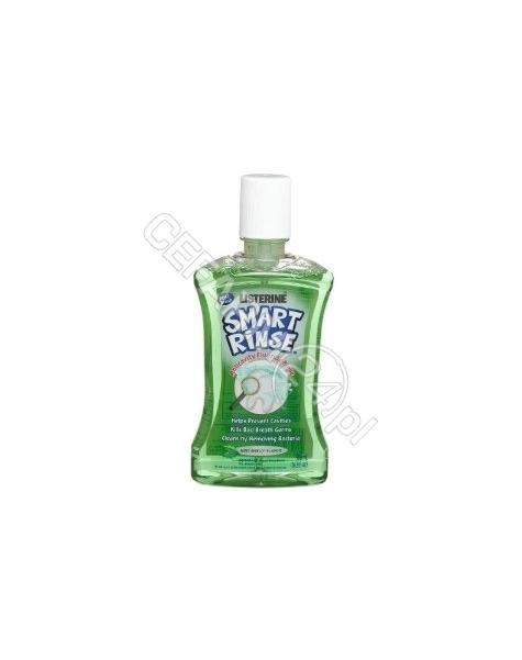 JOHNSON & JOHNSON Listerine smart rinse - płyn do płukania ust dla dzieci łagodna mięta 250 ml