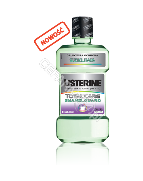 JOHNSON & JOHNSON Listerine total care enamed guard - płyn do płukania jamy ustnej 250 ml