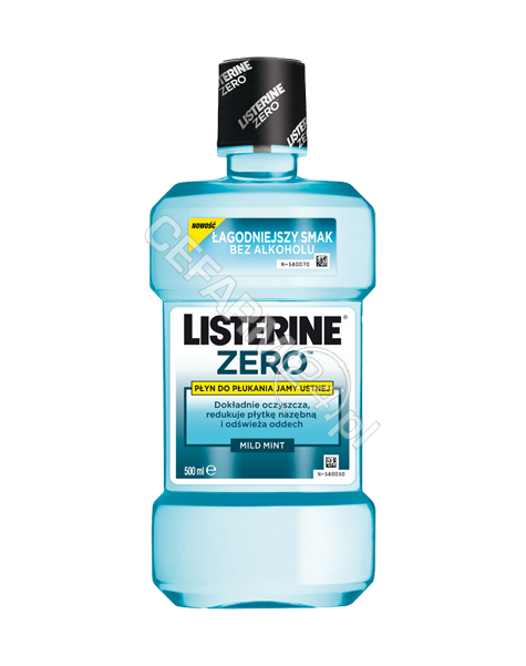 JOHNSON & JOHNSON Listerine zero - płyn do płukania jamy ustnej 250 ml