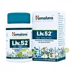 THE HIMALAYA DRUG CO. Liv 52 tabletki 100 sztuk