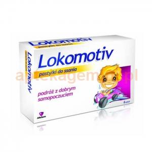 Aflofarm Lokomotiv, 6 pastylek do ssania