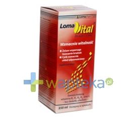 IMED POLAND SP. Z O.O. Loma Vital żelazo+cynk płyn 250 ml