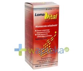 IMED POLAND SP. Z O.O. Loma Vital żelazo+cynk płyn 500 ml