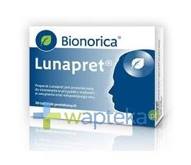 BIOMERICA Lunapret 20 tabletek