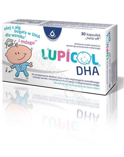 OLEOFARM Lupicol DHA x 30 kaps twist-off