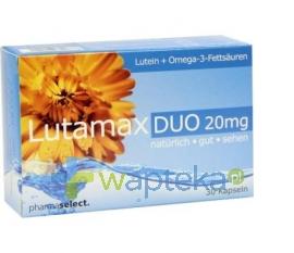 PHARMASELECT INTERNATIONAL BETEILIGUNGS GM Lutamax Duo 20 mg 30 kapsułek