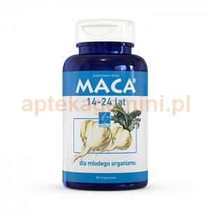 A-Z MEDICA Maca 14-24 lat, 80 kapsułek