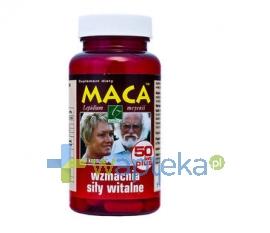 A-Z MEDICA SP. Z O.O. Maca 50 lat Plus 80 kapsułek