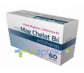 ETHIFARM SP. Z O.O. Mag Chelat B6 Ethifarm 30 kapsułek