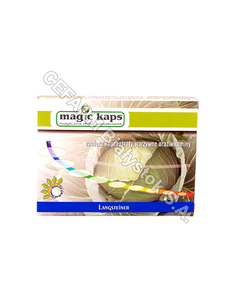 ARCANA Magic kaps dieta kapuściana x 30 kaps