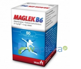 LEK-AM SP. Z O.O. P.F. Maglek B6 50 tabletek