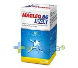 LEK-AM SP. Z O.O. P.F. MAGLEQ B6 MAX 50 tabletek