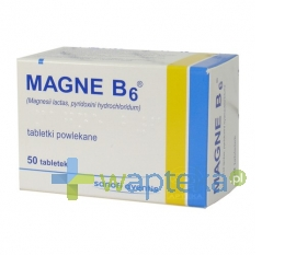 SANOFI AVENTIS SP. Z O.O. Magne B6 50 tabletek