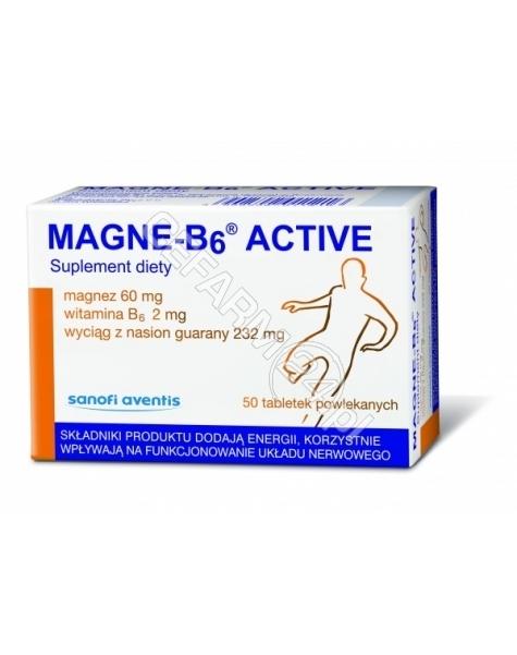 SANOFI Magne-b6 active x 50 tabl powlekanych