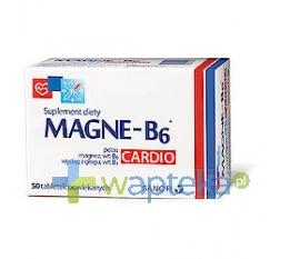 SANOFI AVENTIS SP. Z O.O. Magne B6 Cardio 50 tabletek