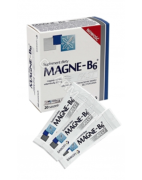 SANOFI Magne-b6 fast x 20 sasz