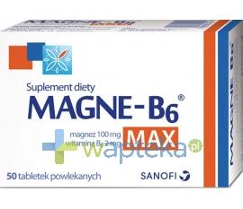 SANOFI AVENTIS SP. Z O.O. Magne B6 Max 50 tabletek
