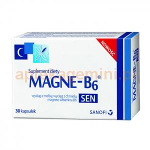 SANOFI AVENTIS SP. Z O.O. Magne B6 Sen 30 kapsułek