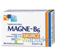 SANOFI AVENTIS SP. Z O.O. Magne B6 Skurcz 30 tabletek