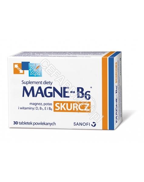 SANOFI Magne-b6 skurcz x 30 tabl powlekanych