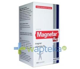 BIOFARM SP.Z O.O. Magnefar B6 100 tabletek