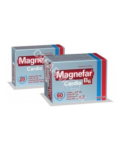 BIOFARM Magnefar b6 cardio x 60 tabl