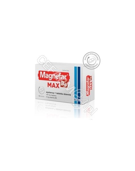 BIOFARM Magnefar b6 max x 50 tabl