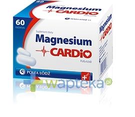ZAKŁADY FARMACEUTYCZNE POLFA-ŁÓDŹ S.A. Magnesium Cardio 60 tabletek