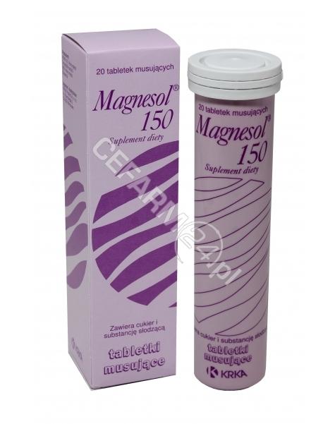 KRKA Magnesol 150 mg x 20 tabl musujących
