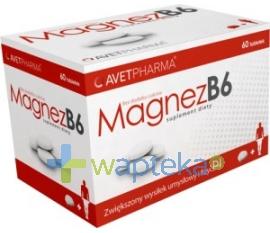 AVET PHARMA S.K.A Magnez B6 60 tabletek AVET PHARMA S.K.A