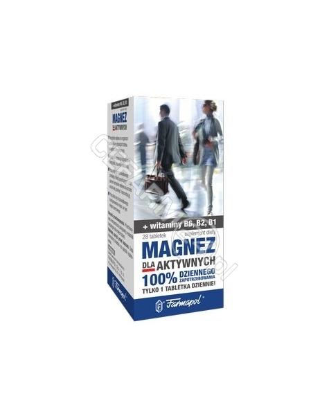 FARMAPOL Magnez dla aktywnych x 35 tabl