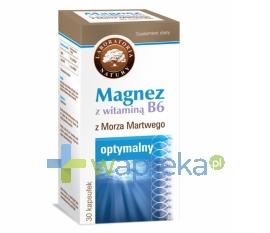 LABORATORIA NATURY SP Z O.O. Magnez z witaminą B6 30 kapsułek LABORATORIA NATURY